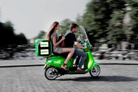 Novox Hopper e-scooter als taxi