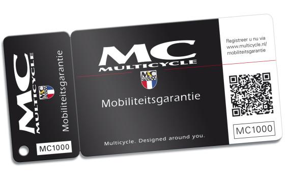 Multicycle Mobiliteitsgarantie samen met ANWB