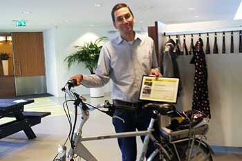 Fietsersbond stimuleert fietsgebruik met Rij2op5 Award