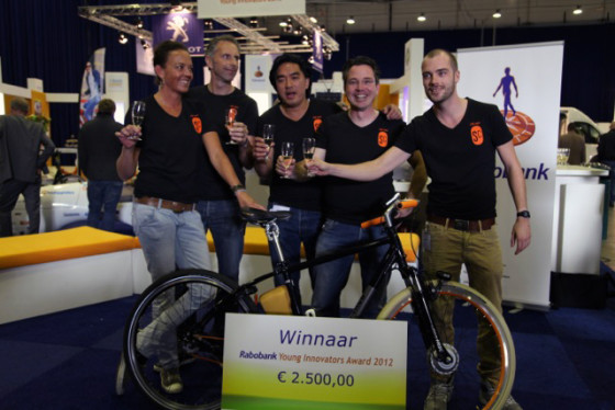 Spiked Cycles wint Rabobank Young Innovator Award op ecomobiel