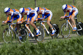 Giant nieuwe kledingsponsor Rabo Pro Cycling teams