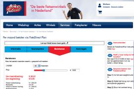 Gespreid betalen bij Bike Totaal met FietsDirectPlan