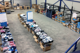 Succesvolle magazijnverkoop Shimano Benelux