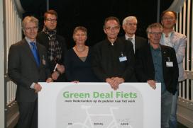 Green Deal Fiets ondertekend