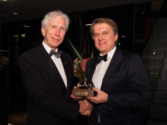 Gouden Motorhart voor 'BOVAG-ambassadeur' Geert Vermeer