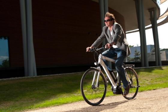 Eén miljoen e-bikers in 2012