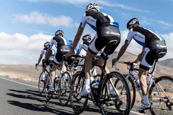 Giant maakt frisse start in professioneel wielrennen