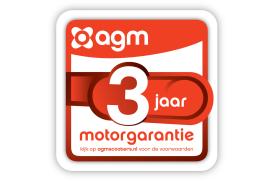 Nu drie jaar garantie op motor AGM scooters