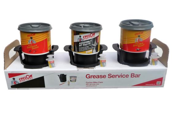 Cyclon introduceert Grease Service Bar