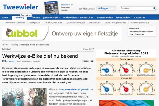 Meest gelezen op Tweewieler.nl in 2012
