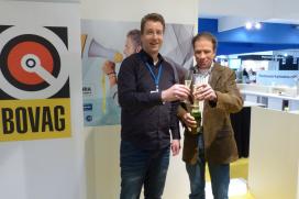 Henk Lubberding 'ploegleider' BOVAG Fietsen