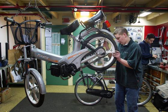 Nullijn voor werknemers tweewielerbedrijven