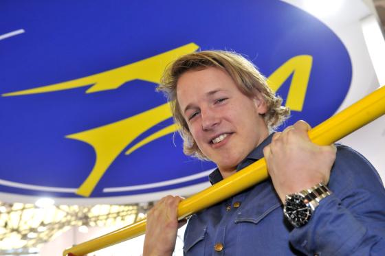 Robert Memelink wint Gazelle-wedstrijd 'rekstok hangen