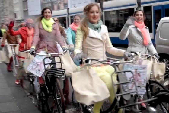 Cortina fietsen schitteren in Libelle