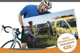 KNWU biedt fietspechhulp