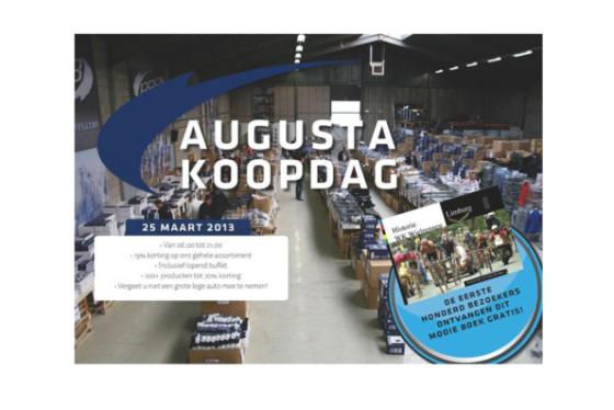 Niet vergeten: maandag Koopdag Augusta