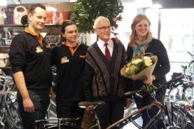 Personeelslid Van Kortenhof redt leven klant