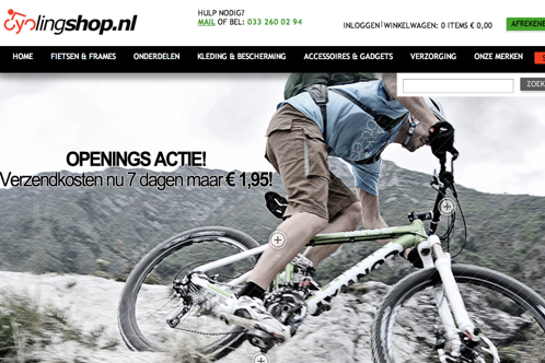 Meer beleving in Cyclingshop.nl