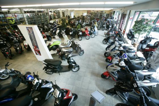 Verkoop gemotoriseerde tweewielers daalt eerste kwartaal 2013