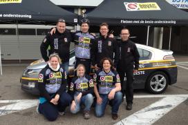 Zware 24-uursrace Elektrische Wielerploeg bij Cycling Zandvoort