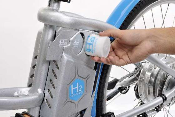 Nieuwste ontwikkeling e-bikes: waterstof-brandstofcel