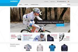 Shimano start webshop met teamkleding
