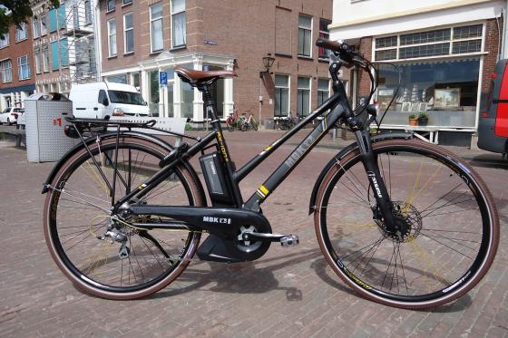 Yamaha PAS-systeem op MBK e-bikes