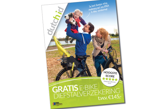 Gratis verzekering ENRA bij Dutch ID e-bikes
