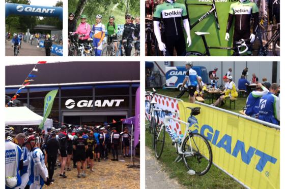 Giant Tour Ride 2013 trekt veel fietsliefhebbers