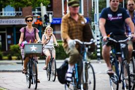 GfK: fietsverkoop bloeide op in juli