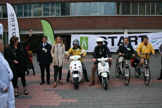 Unigarant ondersteunt breed fietspad Electric Freeway