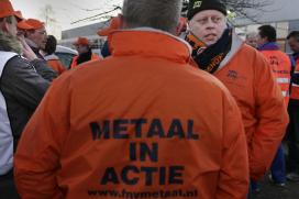 Personeel Batavus doet mee aan staking Metaal CAO