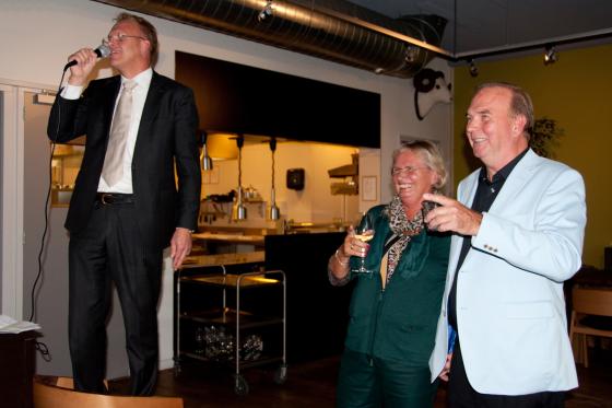 Levensgenieter Gerard van Alewijn neemt afscheid
