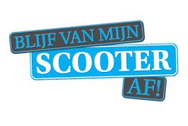 Campagne 'Blijf van mijn scooter af' van start