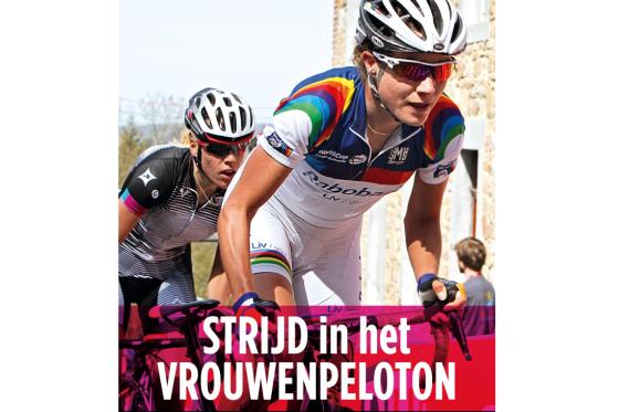 Marianne Vos bij Lola Bikes & Coffee