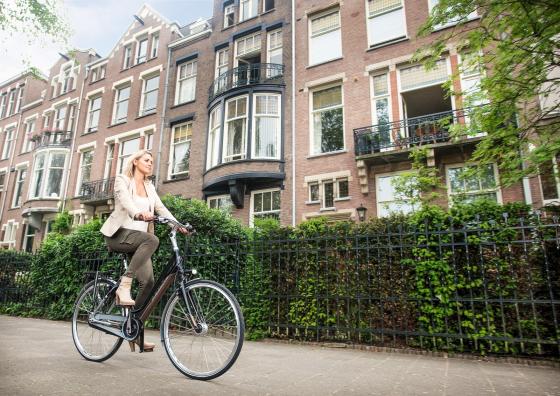 Innovatieve Philips koplamp voor Gazelle Ultimate fietsen