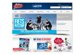 Dikke plus verkoop nieuwe fietsen bij Bike Totaal week 44