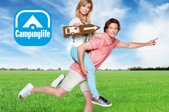 Gazelle in RTL4's Campinglife
