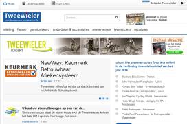 Tweewieler.nl nu ook geschikt voor smartphone en tablet