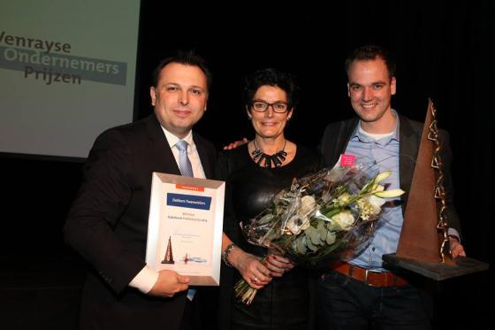 Dekkers Tweewielers wint ondernemersprijs
