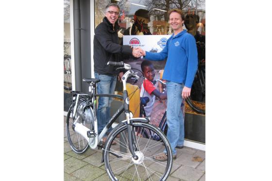 Bikeshop Amersfoort ondersteunt World Bicycle Relief