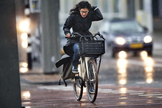 Nederland op kop in Europese fietstop