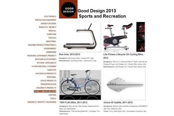Good Design Award 2013 voor TDR Bikes