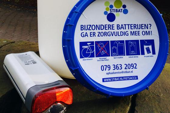 Geen recyclingbijdrage NiMH-batterijpakket