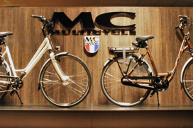 Professioneel shop-in-shop concept van Multicycle