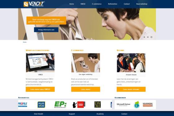 Nieuwe website Vendit