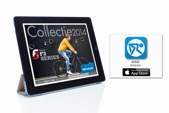 Koga lanceert nieuwe website en app
