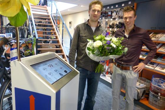 KCU plaatst eerste winkelzuil crossretail verkoop