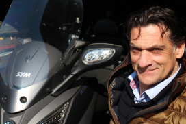 Marco Lindhout, SYM: 'Laat Europa zo snel mogelijk euro 4 voor bromfietsen invoeren