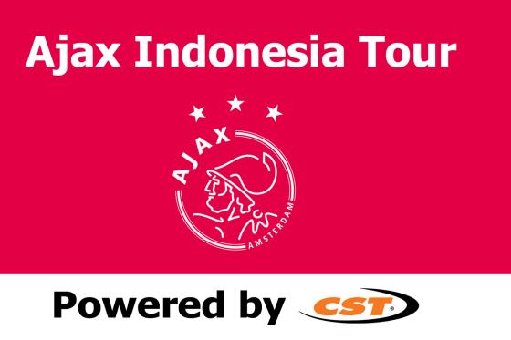 CST sponsor van Ajax Indonesia tour